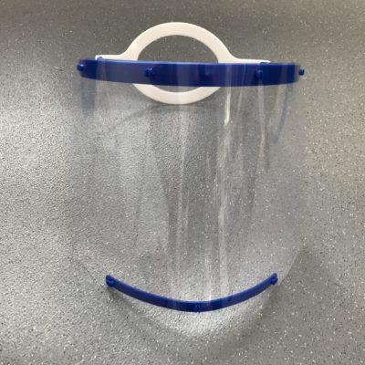 CoVisor PPE from the front
